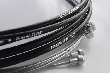 JAGWIRE L3 SL HOUSING CABLE BRAKE DERAILLEUR KIT BLACK Slick-Lube Liner LEX CEX