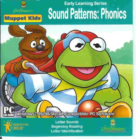 Muppet Kids Sound Patterns Phonics Ages 3-7