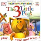Three Little Pigs Interactive Storybook PC-CD Ages 4-6 Win XP/ Mac
