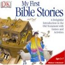 My First Bible Stories Interactive Storybook PC-CD Age 3-7 Win XP / Mac