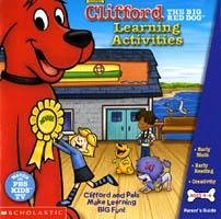 Clifford Learning Activities Ages 4-6 PC-CD Win XP/ Mac