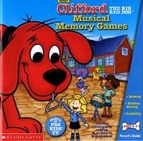Clifford Musical Memory Games PC-CD Ages 4-6 Win XP/ Mac