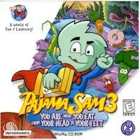 Pajama Sam 3 You Are What You Eat PC-CD Adventure Ages 3-8 Win XP/ Mac