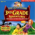 Clue Finders 3rd Grade Adventures V 2.0 Education Learning Activities Age 7-9 Win XP/ Mac