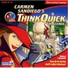 Carmen Sandiego Think Quick Challenge Multi Player Action PC Game CD Ages 8-12 Win XP/ Mac
