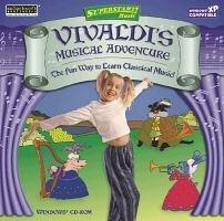 Vivaldi Musical Adventure Superstart Education Classical Music PC-CD Win XP