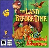 Land Before Time Preschool Adventure Ages 3-5 PC-CD Win XP/Vista/ Mac