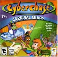 Cyperchase Carnival Chaos PC Game Adventure Age 8-11