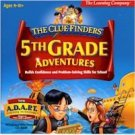 Clue Finders 5th Grade Adventures V 1.0 Education Learning Activities Age 9-11 PC-CD Win XP/ Mac