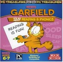 Garfield 2nd Grade Reading-Phonics Ages 6-7 PC-CD Win XP
