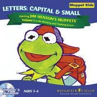 Muppet Kids Vol 1 Letters Early Learning Ages 3-6