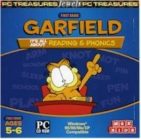 Garfield 1st Grade Reading And Phonics Ages 5-6 PC-CD Win XP