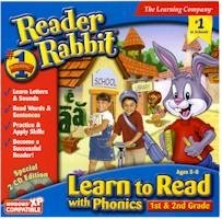 Reader Rabbit Learn To Read With Phonics Grades 1-2 (2-CD Set)