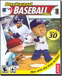 Backyard Baseball 2005 3D PC-CD Sports Win XP/Vista - 38514