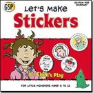 Lets Make Stickers Graphics CD Ages 6-13 (Vista) - 35299