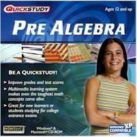 Pre-Algebra Speedstudy Education Math Ages 12+