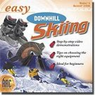 Easy Downhill Skiing Sports Tutorial Instruction Tips PC-CD Win XP/Vista/ Mac - 34721