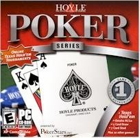 Hoyle Poker Series PC-CD Cards Casino Tournaments Win XP