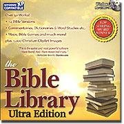 Bible Library Ultra Edition 6.0 CD Reference Religion - Vista - 29882
