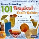 Home Bartending 101 Tropical Drinks CD Win XP/ Mac