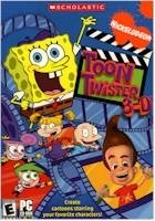 Nickelodeon Toon Twister 3D PC Graphics Cartoon Creator Rated E Ages 6+