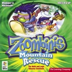 Zoombinis Mountain Rescue Ages 8+