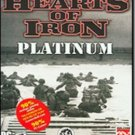 Hearts Of Iron Platinum PC Game WWII Strategy Win XP - 39221