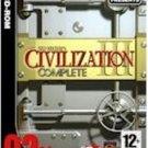 Civilization 3 Complete (3CD Set) PC Sid Meier Strategy WinXP/Vista