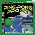 Ping Pong Pro 3D (Table Tennis) PC-CD Sports Win XP