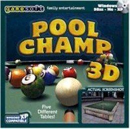 Pool Champ 3D PC-CD Sports Billiards Snooker Win XP