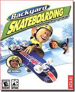 Backyard Skateboarding PC-CD Sports Win XP/Vista - 33386