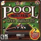 Pool Master Live Billiards 2-Game Set PC-CD Sports Win XP - 35017