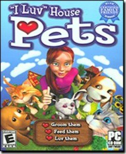I Luv House Pets PC Game Virtual Pet Simulation Rated E (Vista) - 38969
