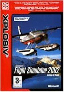 MS Flight Simulator 2002 PC-CD Win XP