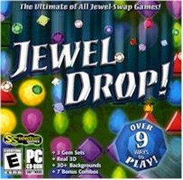 Jewel Drop PC-CD Puzzle Game Win XP