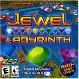 Jewel Labyrinth PC-CD Puzzle Game Win XP