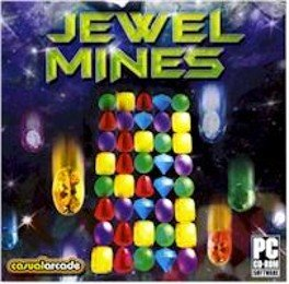 Jewel Mines PC-CD Arcade Puzzle Win XP
