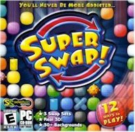 Super Swap PC-CD Arcade+Puzzle Game Win XP
