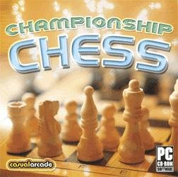 Championship Chess Board Game PC-CD Win XP