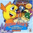 Freddi Fish 5 Creature Of Coral Cove PC Game Mystery