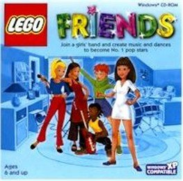 Lego Friends PC Graphics Music Dance Ages 6 and up+