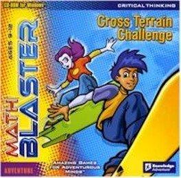 Math Blaster Cross Terrain Challenge PC Math Critical Thinking Ages 9-12