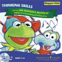 Muppet Kids Vol 4 Thinking Skills Ages 3-6