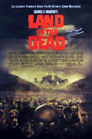 Land Of The Dead Poster 27 x 41 in