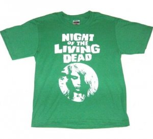 Night Of The Living Dead Zombie Horror T Shirt (All Sizes Available)
