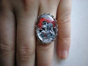 Naughty Zombie Lover Ring