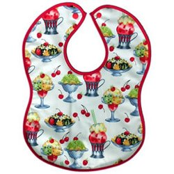 Vintage Kid's Ice-cream Sundae Bib