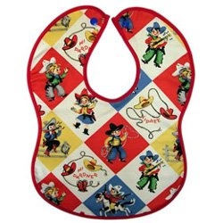 Vintage Kid's Yippee Cowboys & Cowgirls Bib