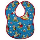 Vintage Kid's Retro Space Bib