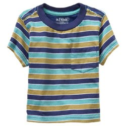 Old Navy's Pocket Tee - Admiral Stripe
